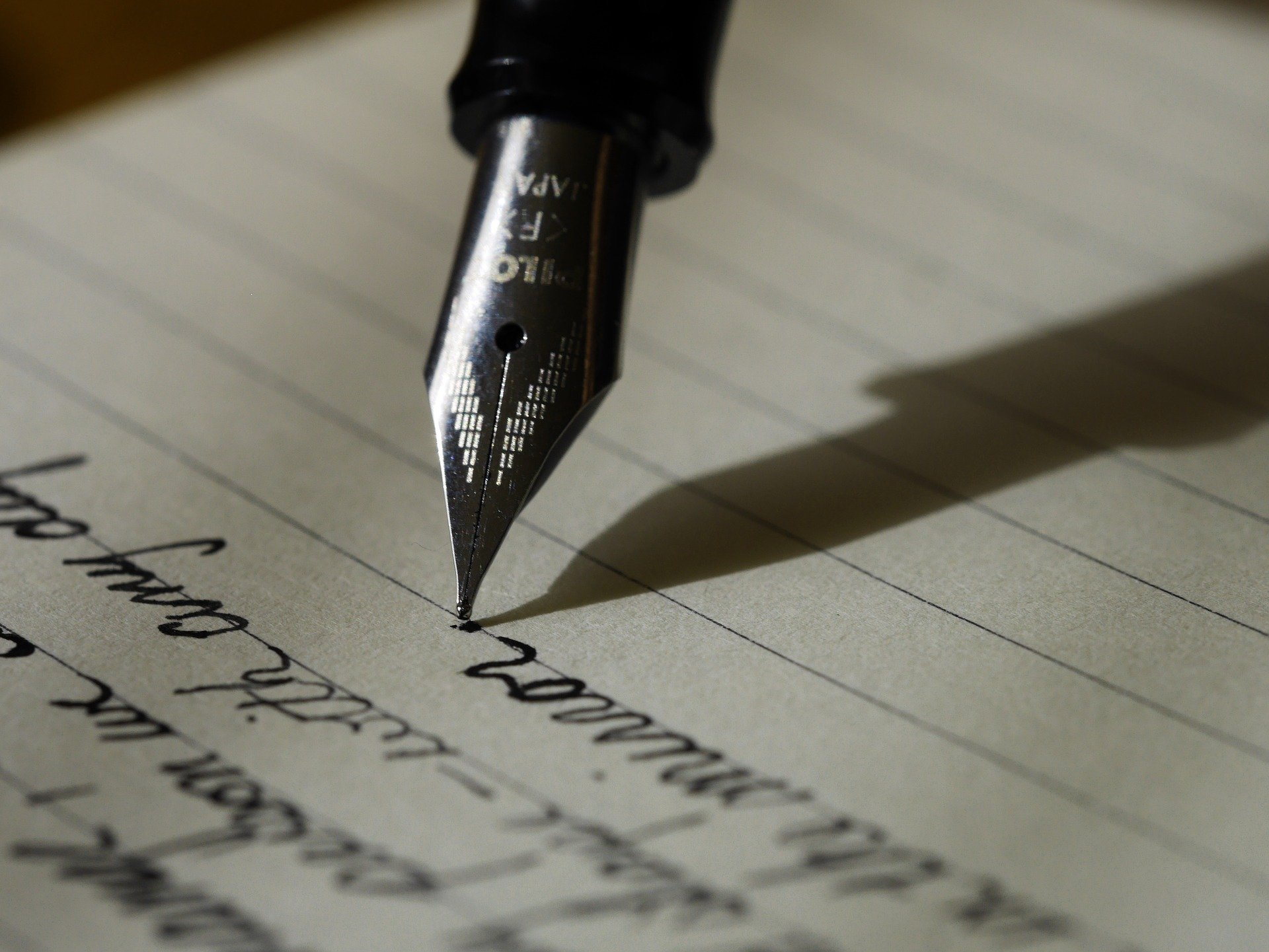 penna con foglio
